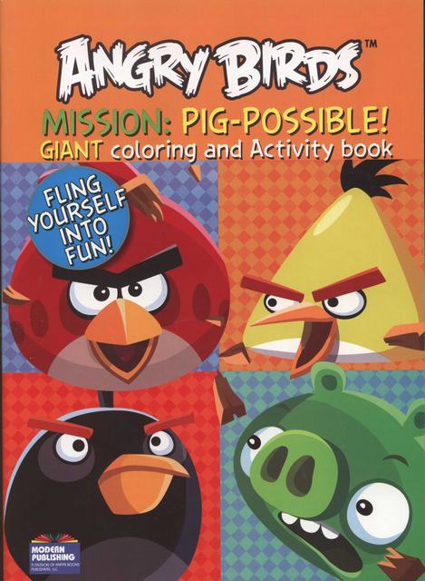 Angry Birds Mission Pig-possible