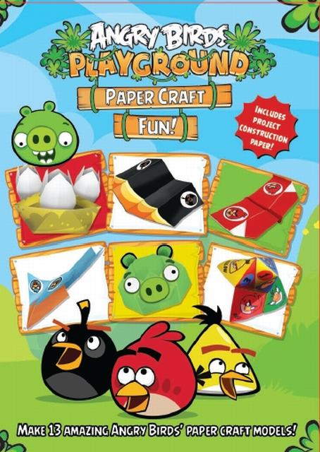 Angry Birds Playground Paper Craft Fun